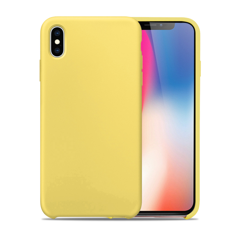 newest 892cc cdb0d iPhone Xs Max Case,Perfect Texture Imitate Silicone TPU Case for iPhone Xs  Max.Phone Case with Micro Fiber Inner for iPhone